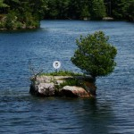 "Smallest ""Thousand Island"", St. Lawrence R."
